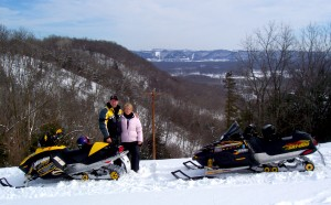 Snowmobiling in Caledonia, MN area
